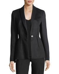 ESCADA - Virgin Wool Darted Blazer - Lyst