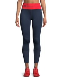 adidas By Stella McCartney - High-waist Training Ultimate Tights - Lyst
