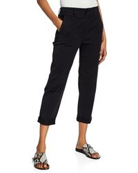 Rag & Bone - Buckley Cropped Mid-rise Chino Pants - Lyst