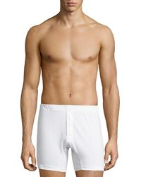 2xist - Pima Cotton Knit Boxer - Lyst