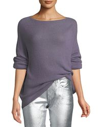 Ralph Lauren Collection - Boat-neck Dolman-sleeve Cashmere Sweater - Lyst