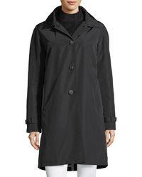 Jane Post - 3-in-1 Button-front Rain Coat - Lyst