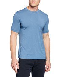 Emporio Armani - Men's Basic Crewneck T-shirt - Lyst
