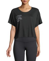 For Better Not Worse - Boxy Short-sleeve Graphic Tee - Lyst