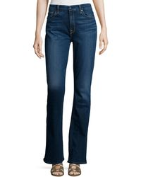 7 For All Mankind - Riche Touch Classic Slim Boot-cut Jeans - Lyst
