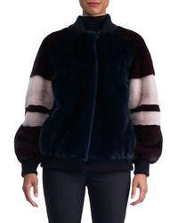 Gorski - Colorblock Mink Fur Pullover - Lyst