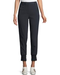 3.1 Phillip Lim - Pinstripe Cotton Jogger Pants - Lyst