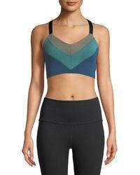Beyond Yoga - Block And Key Sports Bralette - Lyst