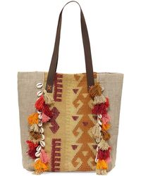 Ále By Alessandra | Jaipur Linen Beach Tote Bag | Lyst