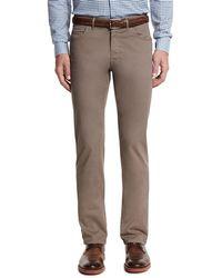 Brioni - Five-pocket Twill Pants - Lyst