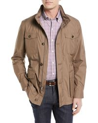 Peter Millar - Discovery All-weather Jacket With Pack-away Hood - Lyst