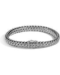 John Hardy - Men's Small Classic Chain Bracelet W/ Sterling Silver - Lyst