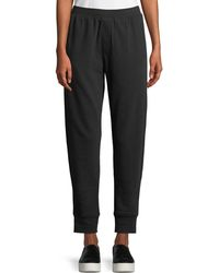 ATM - Slim Cuffed Pull-on Terry Sweatpants - Lyst