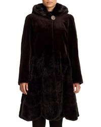 Gorski - Reversible Sheared Mink Fur Coat - Lyst