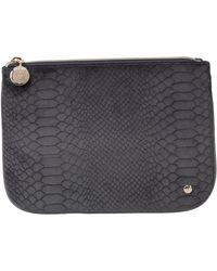 Stephanie Johnson - Marais Mink Large Flat Pouch - Lyst