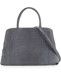 Nancy Gonzalez - Crocodile Large Center-zip Tote Bag - Lyst