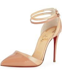 Christian Louboutin - Uptown Double Red Sole Pump - Lyst