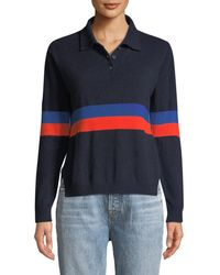 Kule - The Rainey Long-sleeve Cashmere Combo Top - Lyst