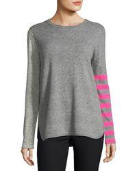 Lisa Todd - Pop Rocks Cashmere Striped Sweater - Lyst