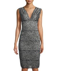 Cosabella - Pret-a-porter Long Lace-trim Nightgown - Lyst