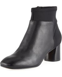 Donald J Pliner - Cazzie Stretch Leather Booties - Lyst