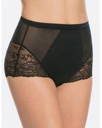 Spanx - Lace-inset High-waist Briefs - Lyst