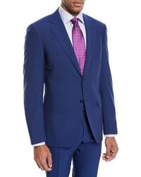 Canali - Double-stripe Wool Two-piece Suit - Lyst