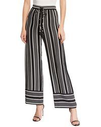 Trina Turk - Adonia Striped Wide-leg Pants - Lyst
