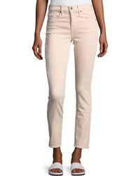 Vince - Skinny Crop Straight-leg Jeans - Lyst