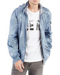 True Religion - Reversible Denim Hooded Jacket - Lyst