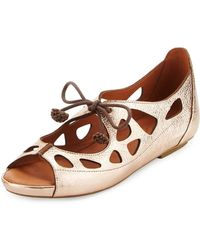 Gentle Souls - Brynn Leather Lace-up Sandal - Lyst