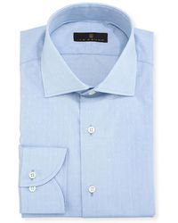 Ike Behar - Gold Label Dobby Cotton Dress Shirt - Lyst