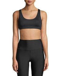 Alo Yoga - Ambient Low-impact Scoop-neck Sports Bra - Lyst