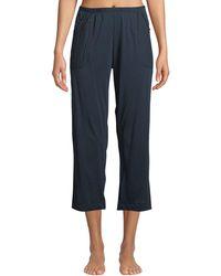 Skin - Joelle Side-pocket Cropped Lounge Pants - Lyst