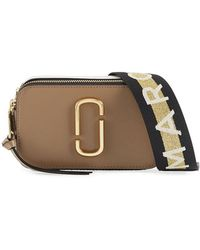 Marc Jacobs - Snapshot Coated Leather Camera Bag - Lyst
