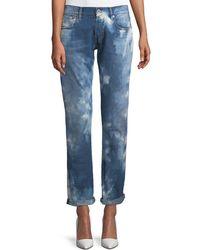 Ralph Lauren Collection - Mid-rise Straight-leg Coastal Denim Jeans - Lyst