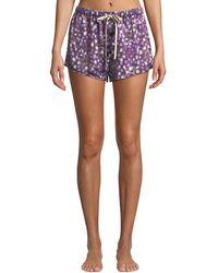 Morgan Lane - Dandelion Martine Silk Pajama Shorts - Lyst