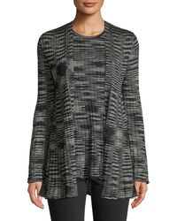 M Missoni - Space-dyed Ribbed Cardigan - Lyst