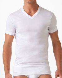 2xist - Pima Cotton V-neck T-shirt - Lyst