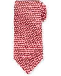 Ferragamo   Flamingos Silk Tie   Lyst