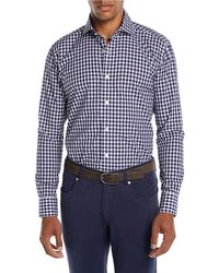 Peter Millar - Men's Boucle Gingham Sport Shirt - Lyst