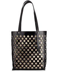 9660a5cdb Rebecca Minkoff Cage Stella Large Tote (honey) Tote Handbags - Lyst