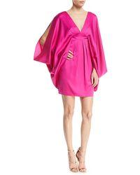 Trina Turk - Blossom Kimono-sleeve Mini Cocktail Dress - Lyst