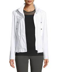 Anatomie - Rosella Corset-bottom Jacket - Lyst