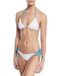 Miguelina - Tamara Triangle Bikini - Lyst