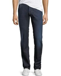 Jacob Cohen - Lightweight Dark-wash Straight-leg Jeans - Lyst