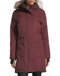 Nobis - Meredith Coat With Fur Hood - Lyst