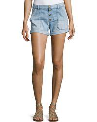 Ba&sh - Mira Button-front Shorts - Lyst