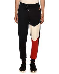 Moncler - Men's Lounge Pants With Tricolor Detail - Lyst