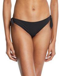 Stella McCartney - Timeless Basics Classic Tie-side Swim Bikini Bottom - Lyst